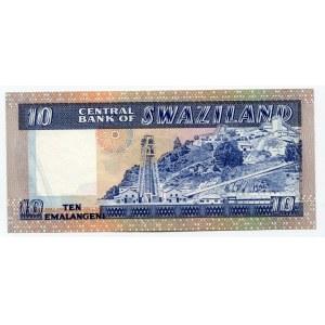 Swaziland 10 Emalangeni 1985