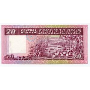 Swaziland 20 Emalangeni 1985