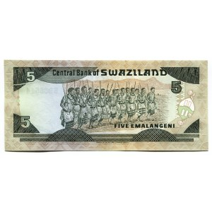 Swaziland 5 Emalangeni 1987 (ND)