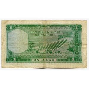 Tunisia 1 Dinar 1958 (ND)