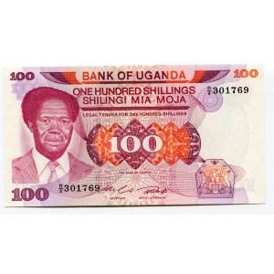 Uganda 100 Shillings 1985