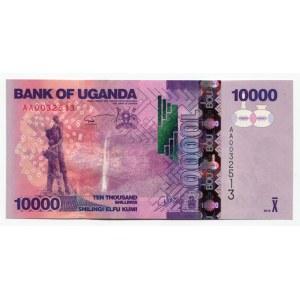 Uganda 10 Shillings 2010