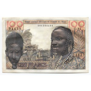 West African States 100 Francs 1959