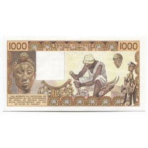 West African States Senegal 1000 Francs 1981