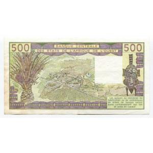 West African States Senegal 500 Francs 1988