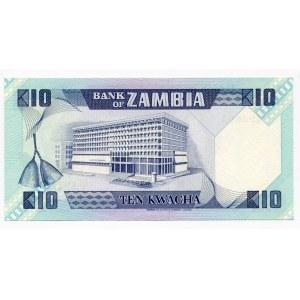 Zambia 10 Kwacha 1980 - 1988
