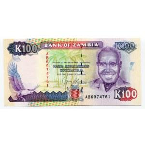 Zambia 100 Kwacha 1991