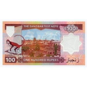 Zanzibar 100 Rupees 2018 Specimen Freddie Mercury
