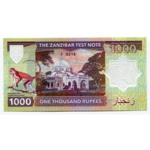 Zanzibar 1000 Rupees 2019 Specimen Freddie Mercury