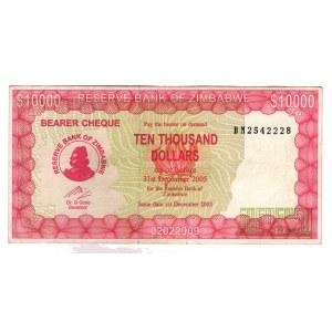 Zimbabwe 10000 Dollars 2005