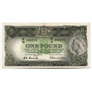 Australia 1 Pound 1961 - 1965 (ND)