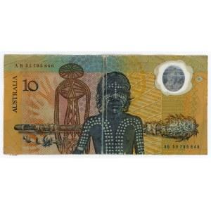 Australia 10 Dollars 1988 (ND)
