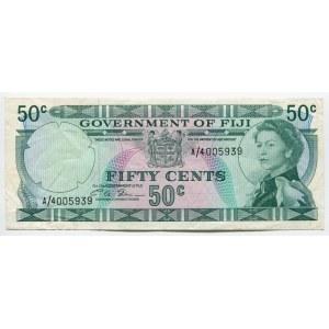 Fiji 50 Cents 1969