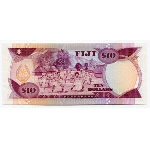 Fiji 10 Dollars 1986