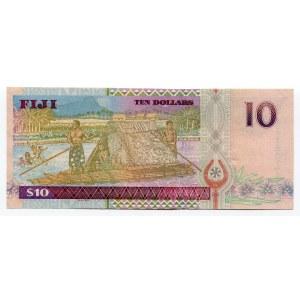 Fiji 10 Dollars 2002