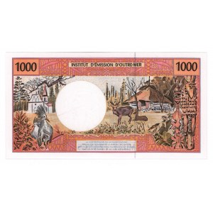 French Pacific Territories 1000 Francs 1992
