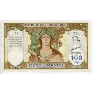 New Caledonia 100 Francs 1937