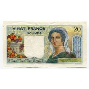 New Caledonia 20 Francs 1941 - 1945 (ND)