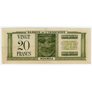 New Caledonia 20 Francs 1944 (ND)