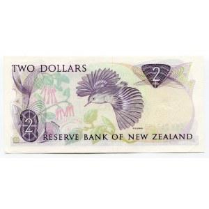 New Zealand 2 Dollars 1985 - 1989