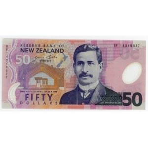New Zealand 50 Dollars 2014