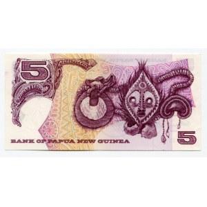 Papua New Guinea 5 Kina 1975 (ND)