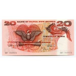 Papua New Guinea 20 Kina 1981 (ND)