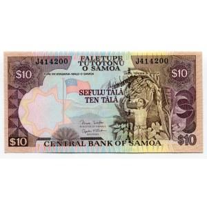 Samoa 10 Tala 2002