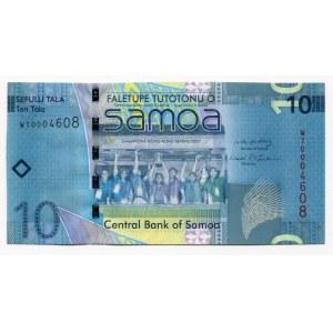 Samoa 10 Tala 2008