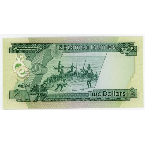 Solomon Islands 2 Dollars 1977
