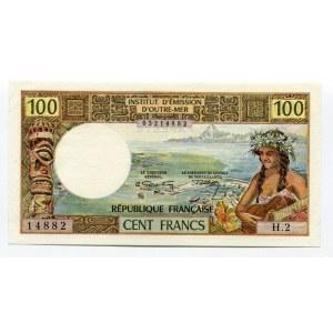 Tahiti 100 Francs 1969