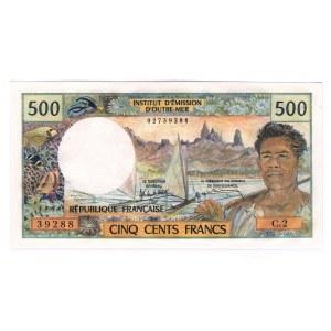 Tahiti 500 Francs 1970