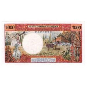 Tahiti 1000 Francs 1971