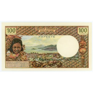 Tahiti 100 Francs 1973 (ND)
