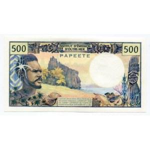 Tahiti 500 Francs 1985 (ND)