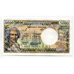Tahiti 5000 Francs 1985 (ND)