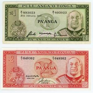 Tonga 1 & 2 Panga 1974 - 1992