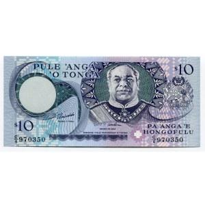 Tonga 10 Paanga 1995