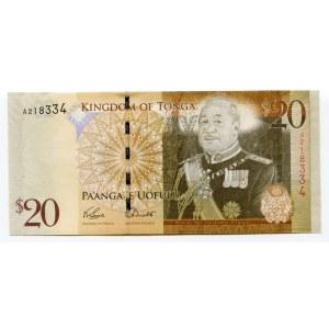 Tonga 20 Paanga 2008
