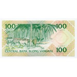 Vanuatu 100 Vatu 1982 (ND)