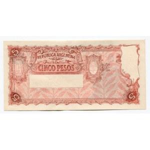Argentina 5 Pesos 1947 (ND)