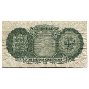 Bahamas 4 Shillings 1953 (ND)
