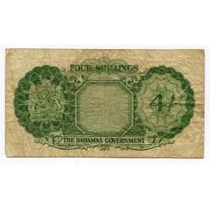 Bahamas 4 Shillings 1953
