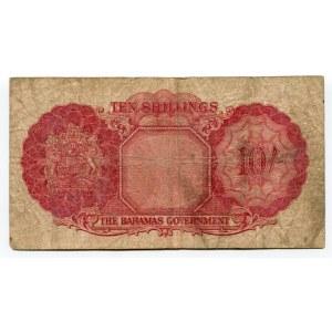 Bahamas 10 Shillings 1953