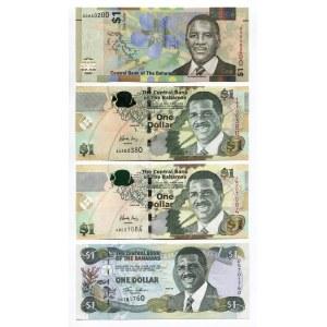 Bahamas 4 x 1 Dollar 2001 - 2017