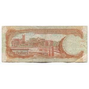 Barbados 50 Dollars 1989