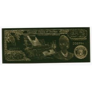Belize 50 Dollars 1984