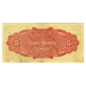 Brazil 5 Mil Reis 1922