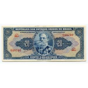 Brazil 20 Cruzeiros 1943
