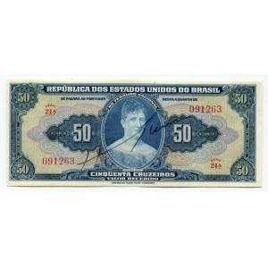Brazil 50 Cruzeiros 1943